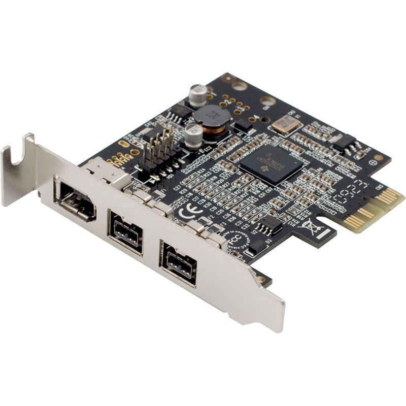Low Profile PCI-Express 1394B Firewire Retail