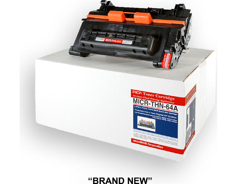 MICRO MICR BRAND NEW MICR CC364A TONER CARTRIDGE FOR USE IN HP TROY LASERJET P40