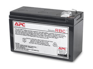 Replacement Battery Cartridge #114 - UPS battery - 60 VA - 1 x lead acid - black - for P/N: BE450G BN4001