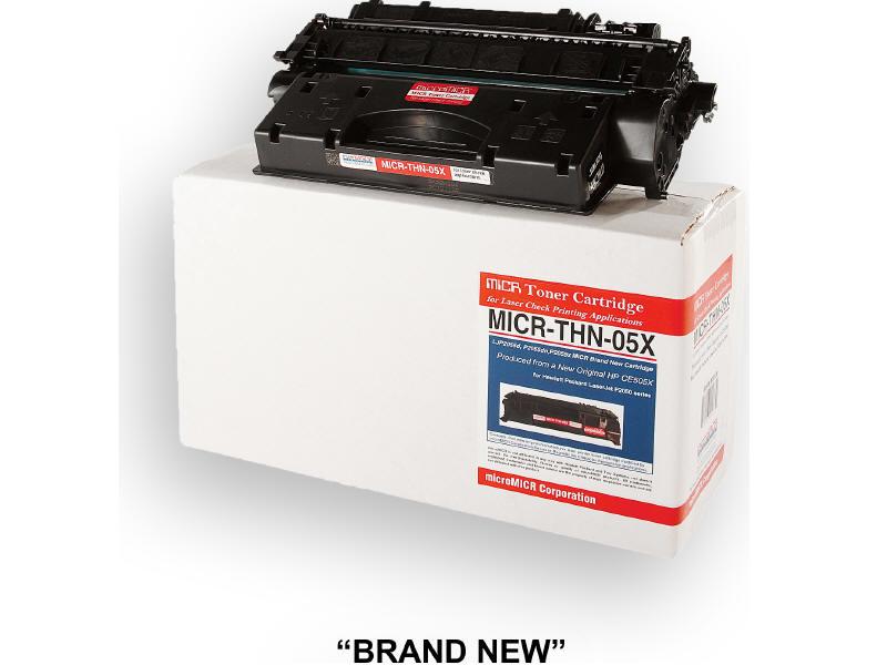 MICRO MICR BRAND NEW MICR CE505X TONER CARTRIDGE FOR USE IN HP LASERJET P2055D P