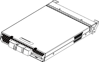 JBOD I/O module enclosure