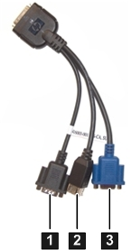 LOCAL IO DIAGNOSTIC CABLE HPE ASIS 1YR IMS WTY STANDARD