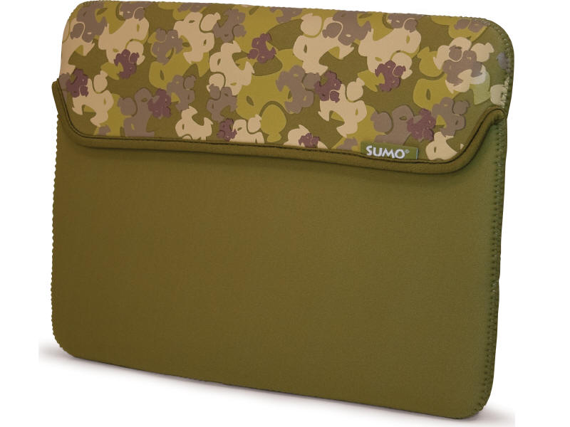 SUMO - CAMO TABLET SLEEVE - 8.9IN - GREENNEOPRENE