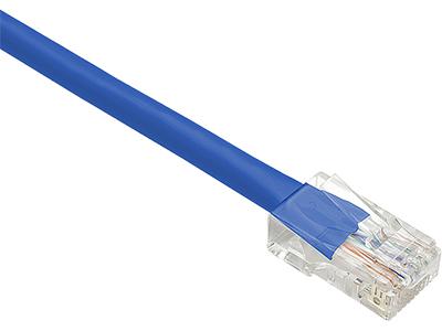 10FT BLUE CAT6 PATCH CABLE UTP NO BOOTS