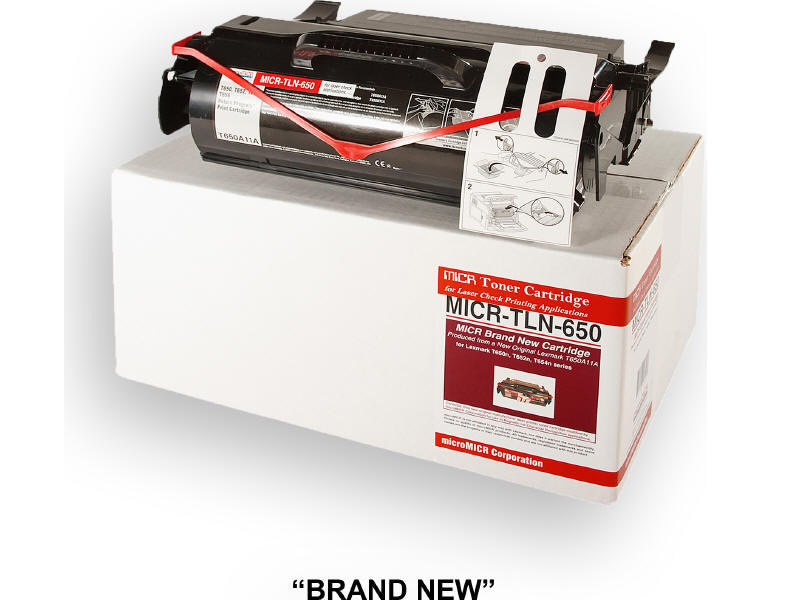 MICRO MICR BRAND NEW MICR T650A11A TONER CARTRIDGE FOR USE IN LEXMARK T650N T652