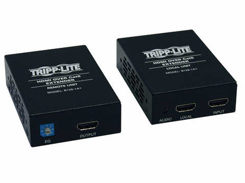 HDMI Over Cat5/6 Active Video Extender Kit Transmitter Receiver 1080p 200 - Video/audio extender - up to 200 ft