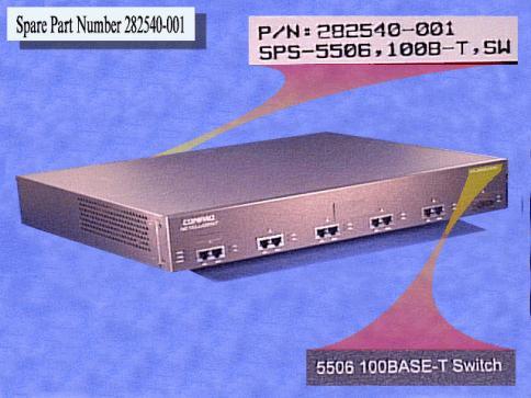 100 Base-T 5TX + 1FX - SC Switch