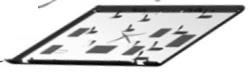 LCD BACK COVER PAV DF