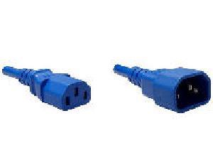1FT BLUE C13-C14 PDU/ SERVER ULTRA FLEXIBLE POWER CORD SVT 10AMP 250V