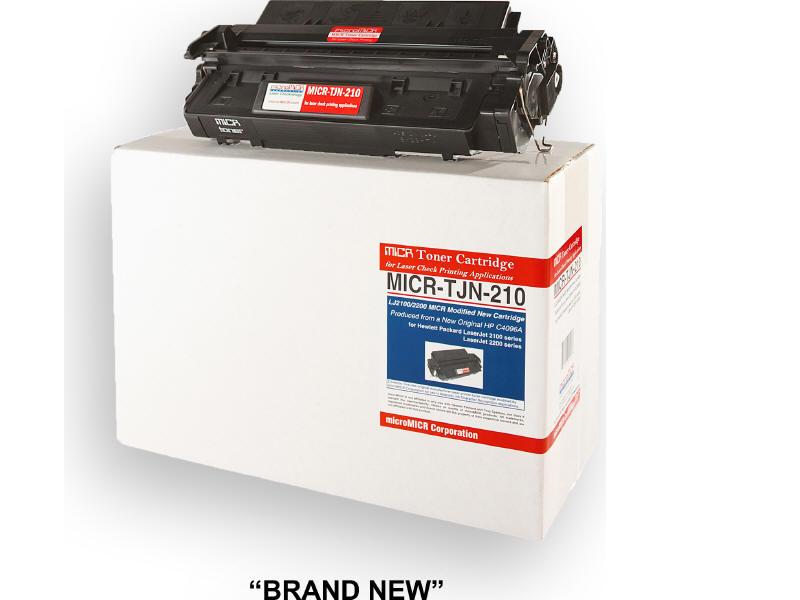 MICRO MICR BRAND NEW MICR C4096A TONER CARTRIDGE FOR USE IN HP LASERJET 2100 210
