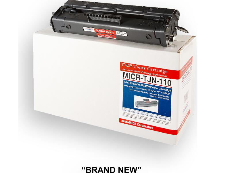 MICRO MICR BRAND NEW MICR C4092A TONER CARTRIDGE FOR USE IN HP LASERJET 1100 110