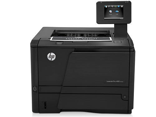 LaserJet Pro 400 M401DW Laser Printer - Monochrome - 1200 x 1200 dpi Print - Plain Paper Print - Desktop - 35 ppm Mono Print - 800 sheets Input - 50000 pages per month - Automatic Duplex Print - LCD - Ethernet - Wireless LAN - USB