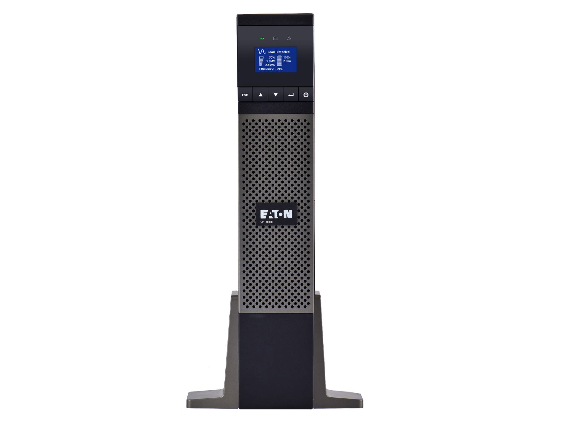 VA Tower UPS - 3000 VA/2700 W - 132 V AC - 4 Minute - Tower - 4 Minute - 6 x NEMA 5-20R -  1 x NEMA L5-30R