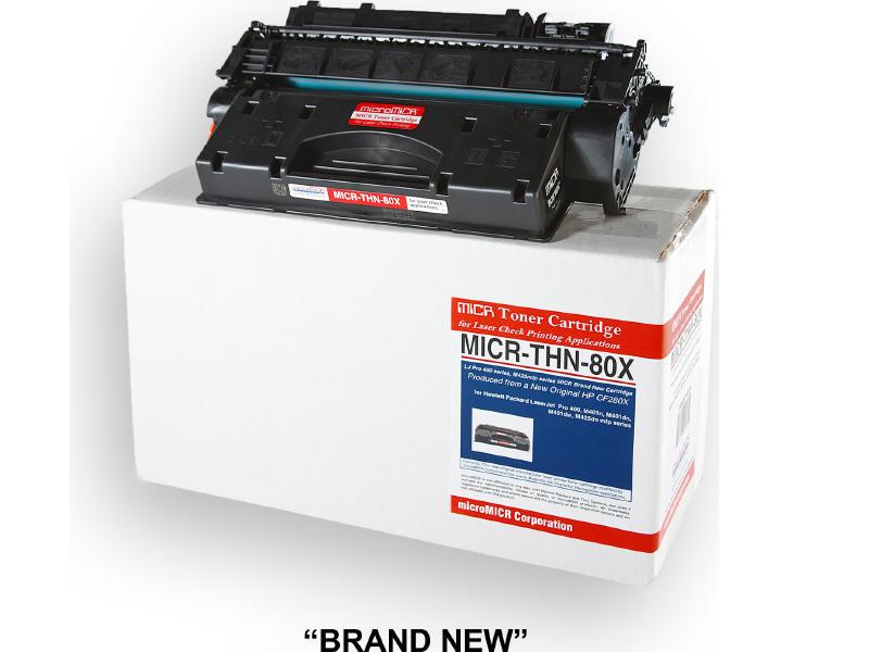 MICRO MICR BRAND NEW MICR CF280X TONER CARTRIDGE FOR USE IN HP LASERJET M401N M4