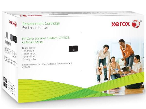 HP Colour LaserJet CP4525 - Black - toner cartridge (alternative for: HP CE260A) - for HP Color LaserJet Enterprise CP4025 CP4525 LaserJet Enterprise CM4540