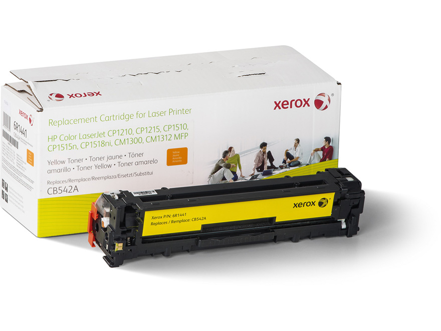 REMAN ALT. FOR HP YELLOW LASERJET CP1215/1515 CB542A XER YIELD 1400 AND OE