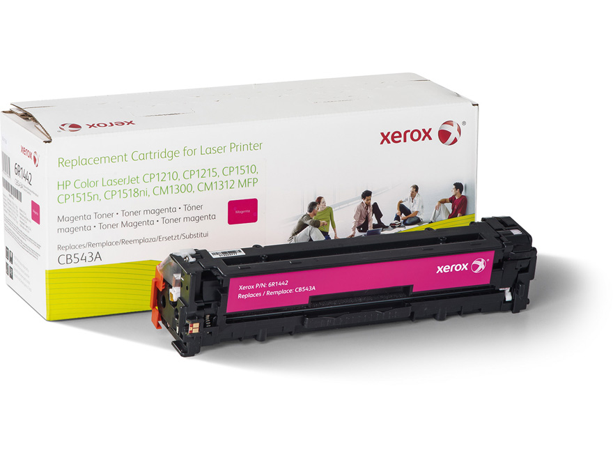REMAN ALT. FOR HP MAGENTA LASERJET CP1215/1515 CB543A XER YIELD 1400 AND O