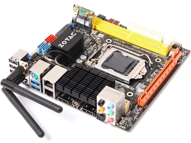 INTEL Z77 EXPRESS LGA1155 MINI-ITX DDR3 PCIEX16 WL