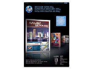 Laser Brochure Paper 200g 52# Matte 112 Bright (8.5 x 11) (Two Sided) (100 Sheets/Pkg)