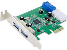 PCI-EXPRESS USB 3.0 2X EXTERNAL PORT +