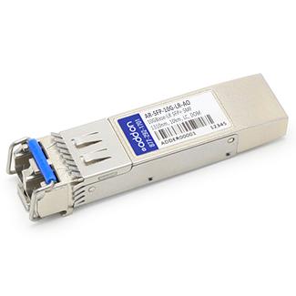 Arista SFP-10G-LR Compatible SFP+ Transceiver - SFP+ transceiver module - 10 GigE - 10GBase-LR - LC single-mode - up to 6.2 miles - 1310 nm - for Cisco Nexus 93180YC-FX 9336C-FX2 9372PX-E