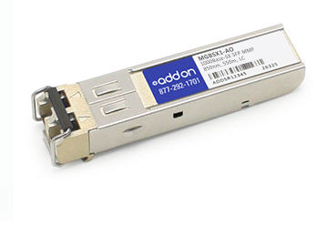 Linksys MGBSX1 Compatible 1000Base-SX SFP Transceiver (MMF 850nm 550m LC TAA) - 100% application tested and guaranteed compatible