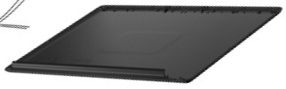 LCD panel back cover (IMR Espresso Black)