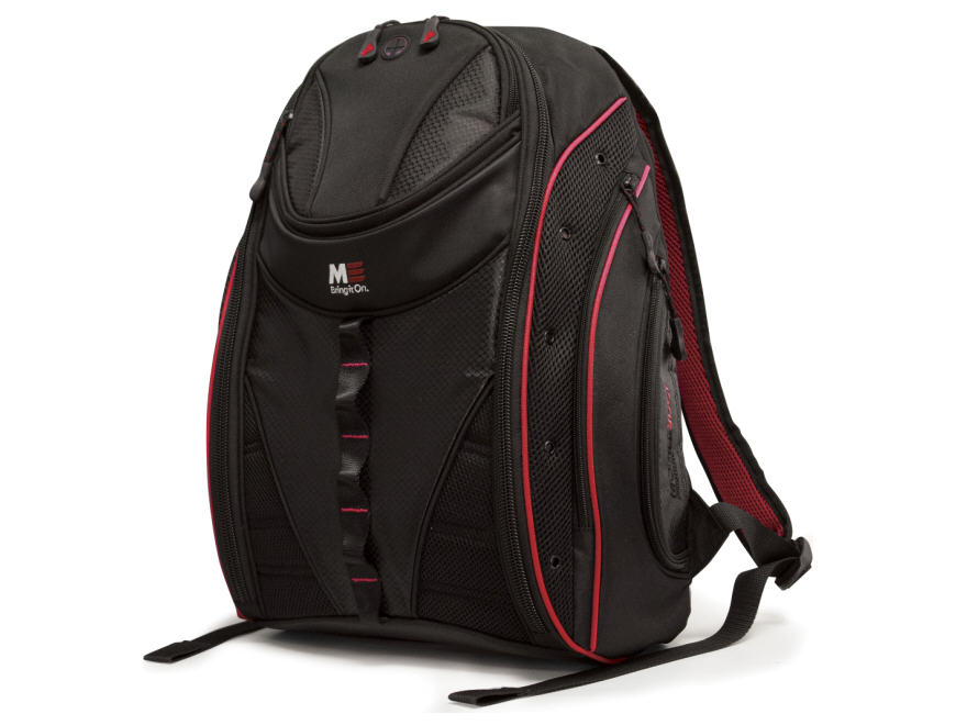 Express 15.6 inch to 16 inch Notebook & Tablet Backpack 2.0 - Notebook carrying backpack - 15.6 inch - 16 inch - black red
