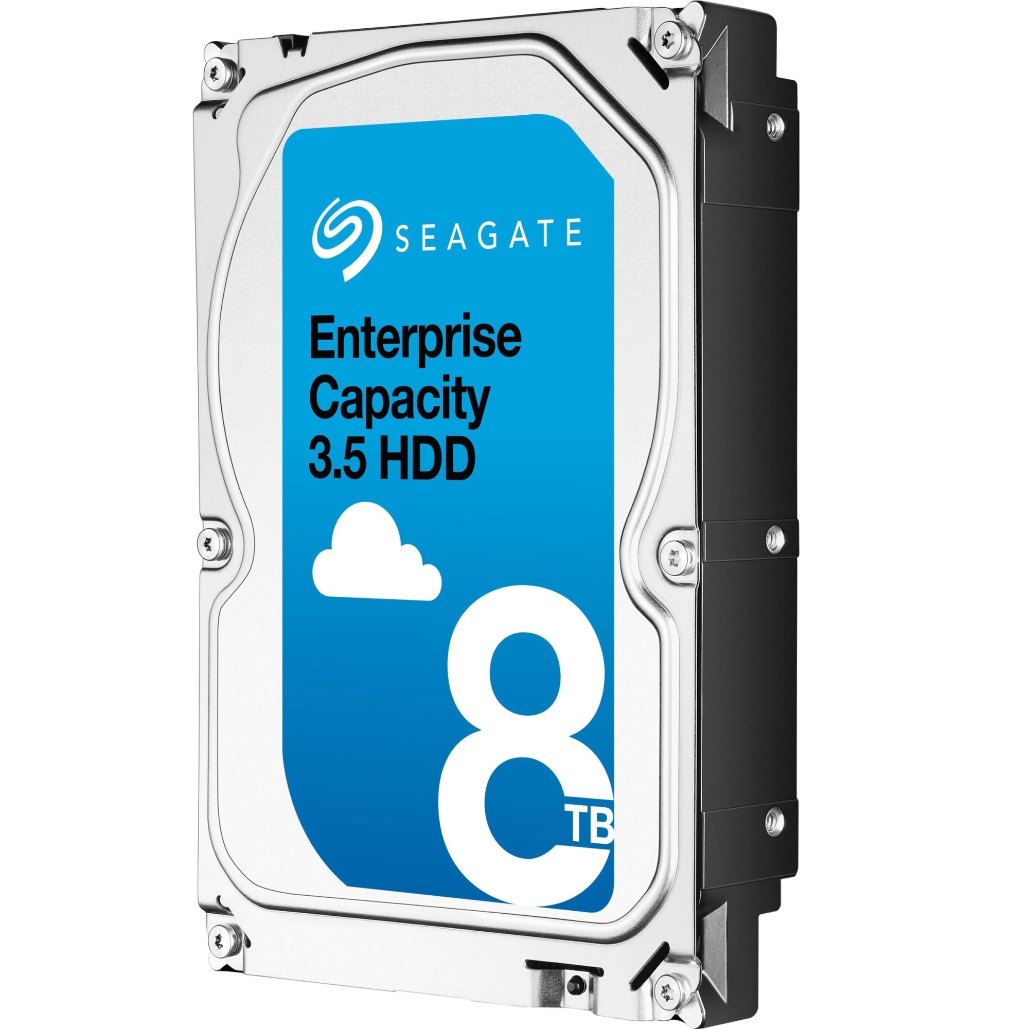 Enterprise Capacity 3.5 HDD - Hard drive - encrypted - 8 TB - internal - 3.5 inch - SAS 12Gb/s - 7200 rpm - buffer: 256 MB - Self-Encrypting Drive (SED)
