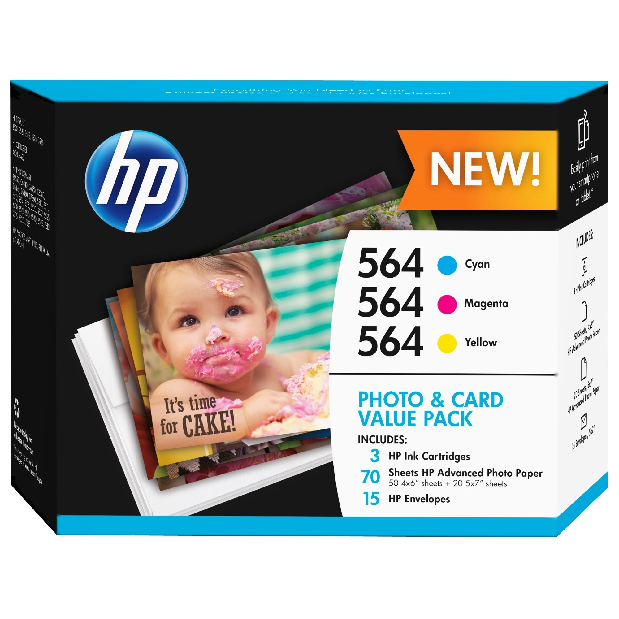 8 UNITS 564 PHOTO AND CARD VALUE PACK