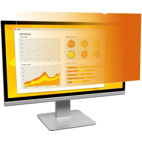 Gold Privacy Filter for 21.5 inch Widescreen Monitor - Display privacy filter - 21.5 inch wide - gold