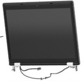 15.6-inch HD+ LED WVA AntiGlare display assembly - 1600 x 900 max resolution - For use only with computer models equipped with a webcam but not equipped with WWAN functionality