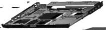 CPU base enclosure (chassis bottom) - For use with EliteBook 8540w models without an RJ-11 cap - Includes rubber feet