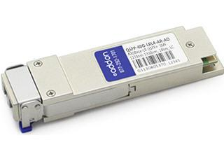 QSFP+ transceiver module (equivalent to: Arista Networks QSFP-40G-LRL4) - 40 Gigabit Ethernet - 40GBase-LRL4 - LC single-mode - up to 6.2 miles - 1270-1330 nm