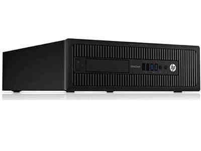 EliteDesk 800 G1 Desktop Computer - Intel Core i5 i5-4590 3.30 GHz - Small Form Factor - 4 GB DDR3 SDRAM RAM - Intel HD Graphics 4600 - Windows 7 Professional 64-bit - 10 x Total Number of USB Port(s) - 6 x USB 2.0 Port(s) - 4 x USB 3.0 Port(s) - VGA