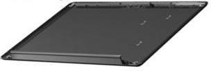 17.3-inch widescreen LCD panel cover