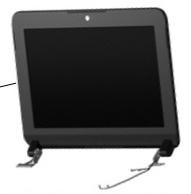 10.1 INCH Wide Screen VGA AG LED IMR/PBL