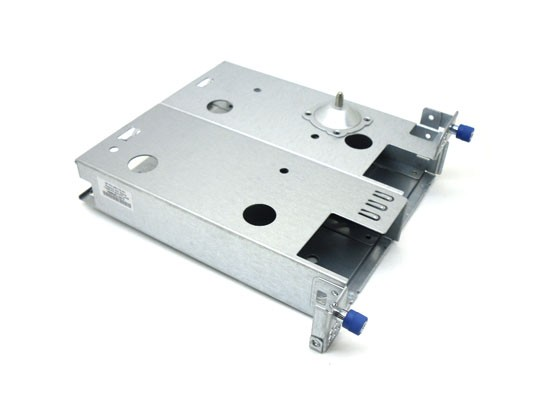 Power supply cage assembly - Includes the two 'common slot' power supply bays - Does NOT include the power supply backplane board - Mounts in the left rear of the chassis