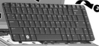 Keyboard assembly - Include the keyboard cable assembly (US)