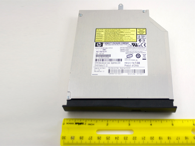 Blu-ray disc (BD) DATA optical drive - With LightScribe
