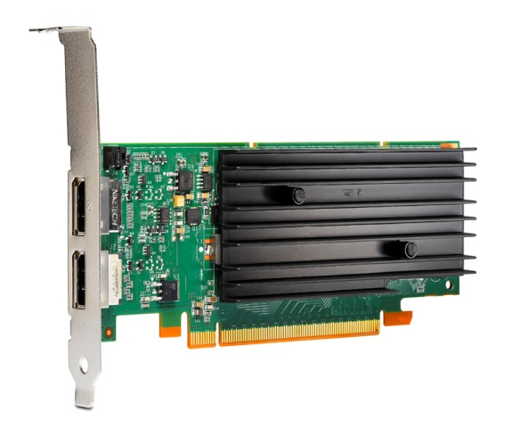 NVIDIA Quadro NVS 295 PCIe 256MB graphics card - With DDR2 memory 21 Watt TDP low profile (LP)