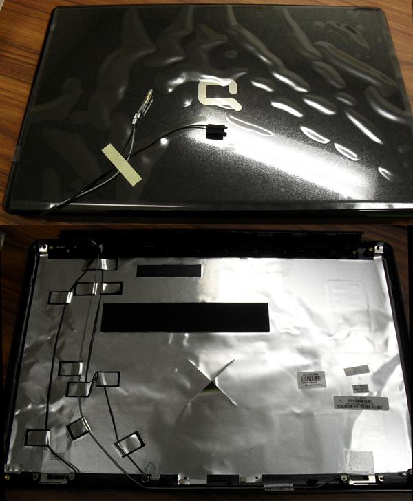 LCD panel back cover (Presario)