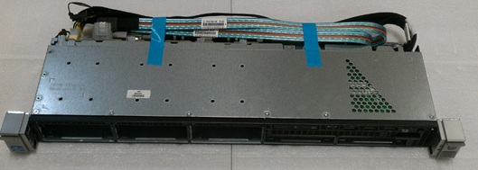 4-LFF hard drive cage - Front cage with four Large Form Factor (LFF) bays - Includes 20-pin cable 24-pin cable and backplane board