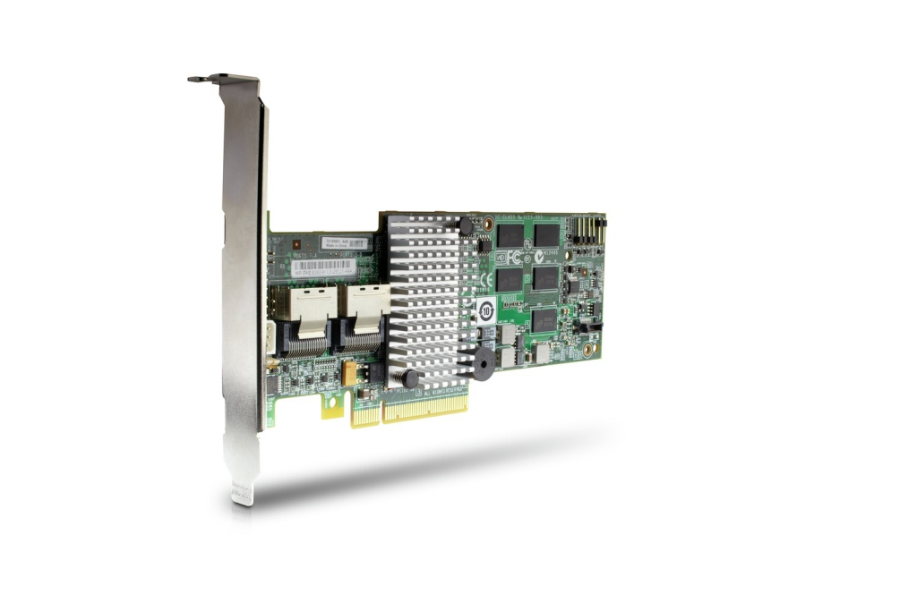 LSI MegaRAID SAS 9260-8i 6Gb/s eight port ROC (RAID on Chip) controller card