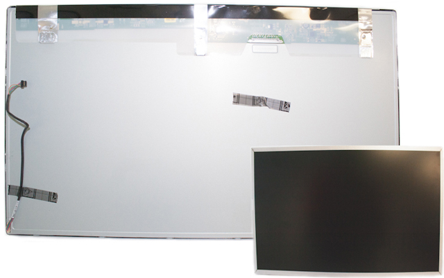 Display panel kit - Includes backlight cable