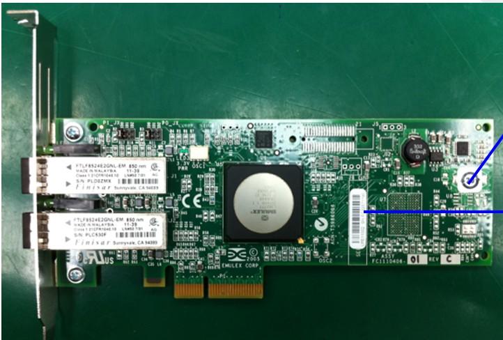 FC2242SR Host Bus Adapter (HBA) - PCI Express DC