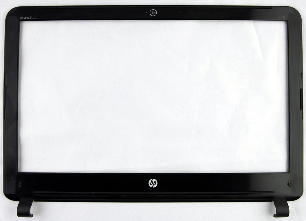 Display bezel - For use on models equipped with a webcam (United States)
