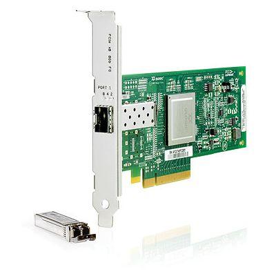 StorageWorks 81Q - Host bus adapter - PCIe 2.0 x4 / PCIe x8 low profile - 8Gb Fibre Channel - for Modular Smart Array 1040 ProLiant DL360p Gen8 DL380 G6 DL385p Gen8 SL210t Gen8