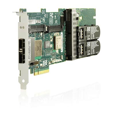 Smart Array P411/256MB Controller - Storage controller (RAID) - 8 Channel - SAS 2 low profile - 600 MBps - RAID 0 1 5 10 - PCIe 2.0 x8