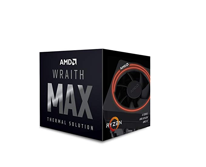 Wraith Max cooler with RGB LED for AM4/AM3/FM2 Retail